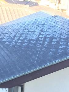 1月25日の屋根