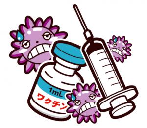 インフルエンザワクチン イラスト